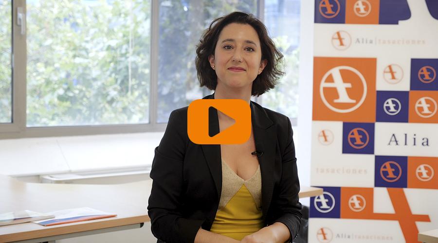 Patricia Alcocer, directora de Proyectos de Alia Tasaciones